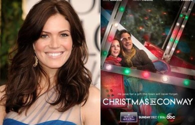 mandy moore christmas in conway maile graduate 390x250jpg - Christmas In Conway Cast